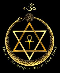gold theosophical logo