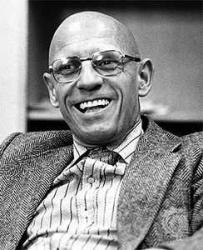 photograph of Michel Foucault
