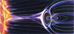 a diagram of the magnetosphere