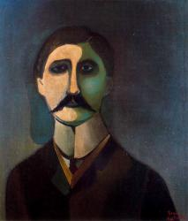 painting of Proust