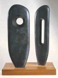 stone sculpture by Barbara Hepworth