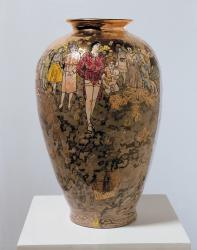 "vase by Grayson Perry - ""Precious Boys"""